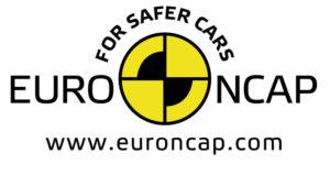 Logo euroncap véhicule tesla sécurisé