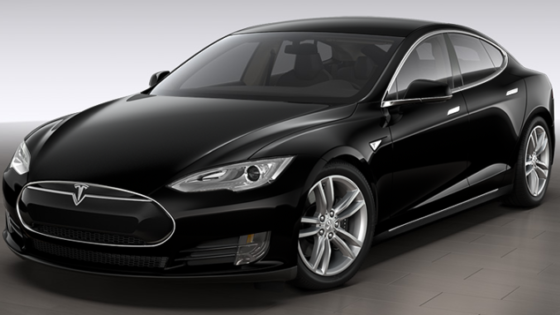 taxi privé Tesla Modèle S 4 places
